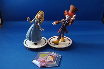 Disney Infinity 3.0 Alice Mad Hatter Through The Looking Glass, Wonderland Disc
