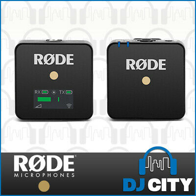 RODE Wireless GO Compact Wireless Microphone System Vlogging Small Wireless Mic