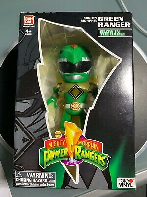 Tokyo Vinyl Mighty Morphin Green Ranger - Power Rangers Glow In The Dark - BNIB