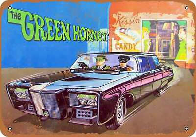 Metal Sign - 1967 The Green Hornet - Vintage Look Reproduction