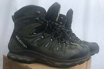 Salomon Mens Quest 4D 2 GTX Gore-Tex Athletic Support Hiking Mid Boots Size 10.5