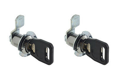 2 Exterior Compartment Lock Keys Gas Bottle Box Motorhome Caravan Horse Latch