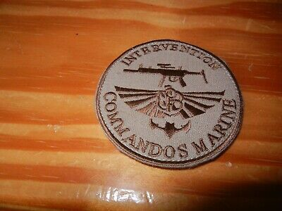 COS       COMMANDOS    MARINE       INTERVENTION       patch sur scratch  ( 10 )