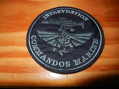 COS       COMMANDOS    MARINE       INTERVENTION       patch sur scratch  ( 11 )