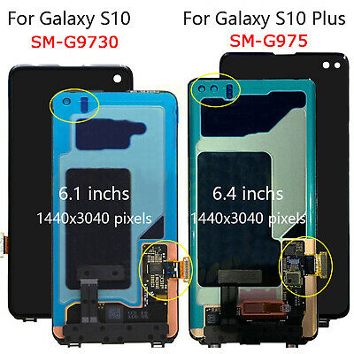 For Samsung Galaxy S10 SM-G9730 / S10 Plus SM-G975 LCD Touch Screen Display BEK