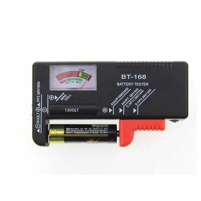 Universal Battery Tester Tool For AA,AAA,C D 9V PP3 Batteries Coin Button Cells