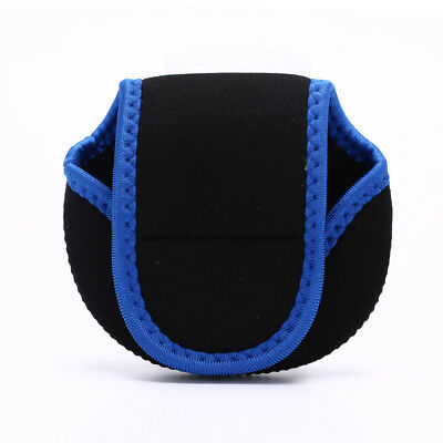 Neoprene Fly Fishing Reel Storage Bag Protective Cover Case Pouch Holder BlackHT