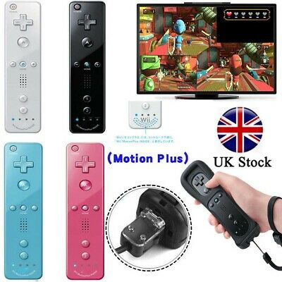 Wiimote Built in Motion Plus Inside Remote Gesture Controller For Nintendo Wii