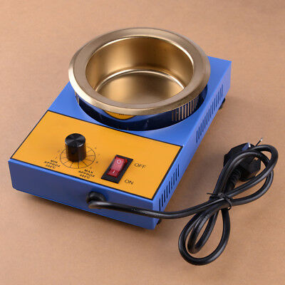 220V Electric Solder Pot 300W 100MM Tin Melting Furnace Casting Pouring 1200g