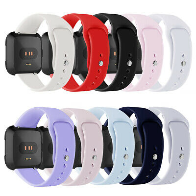 For Fitbit Versa Soft Silicone Replacement Sports Classic Watch Wrist Band Strap