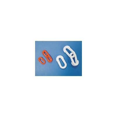 360082 , Connecting Links 6mm S Hook Pack of 10 White
