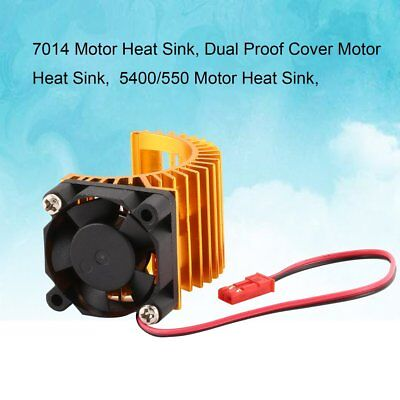 7014 Motor Heat Sink With Cooling Fan for 1/10 HSP RC Car 5400/550 Motor kV