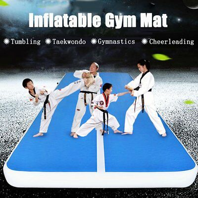 8M Air Tracks Floor Home Gymnastics Tumbling Mats Inflatable Tumbling Track LI