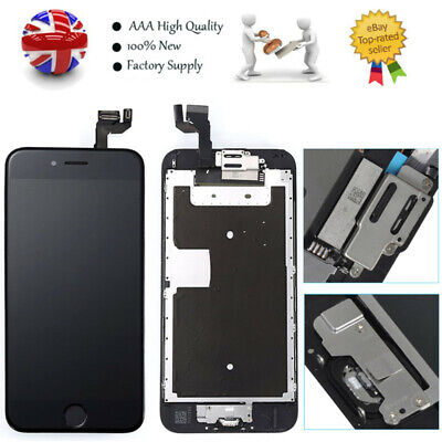 Replacement For iPhone 6S Screen LCD Display Touch Digitizer Black Button Camera