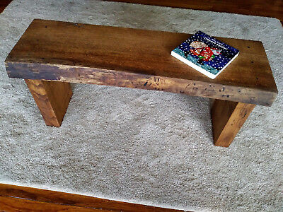 Superb Handcrafted Live Edge Wooden Bench One Of A Kind Rustic Evergreenethics Interior Chair Design Evergreenethicsorg