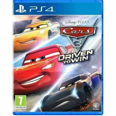 Cars 3 Driven to Win PS4 Brand New Sealed Official Game PEGI 7