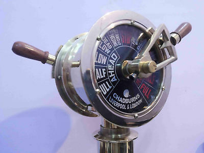 Brass Ship's Engine Order Telegraph Antique Home Decorative
