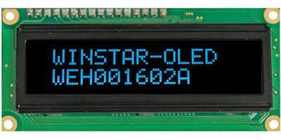 OLED Display Module, 16x2, Blue - WINSTAR