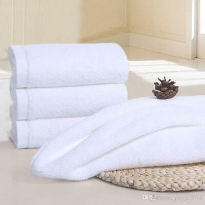 4X White 500GSM Institutional Hotel Quality Cotton Egyptian Big Towel Bath Towel