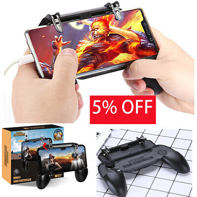 PUBG Mobile Wireless W11+ Gamepad Game Pad Remote Control For iPhone 6s/7/8/X/XS