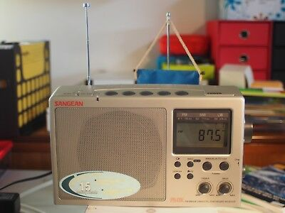 Sangean PR-D3L Portable Radio with Long-Range Reception