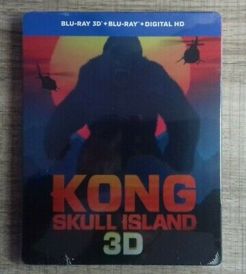 Blu ray King Kong Skull Island EDITION STEELBOOK COLLECTOR 3D fr