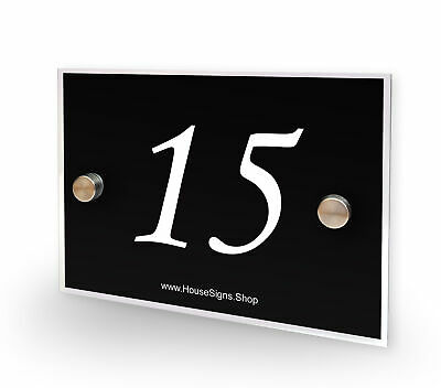 House Number 15 Plaque Home Number Outdoor Address Sign No 15