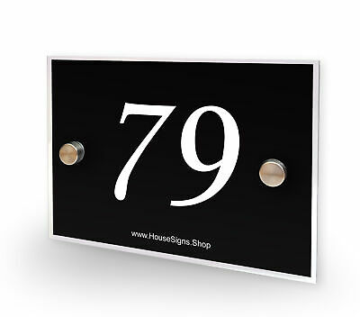 Home Number 79 House Sign Plaque Address Contemporary Style No 79