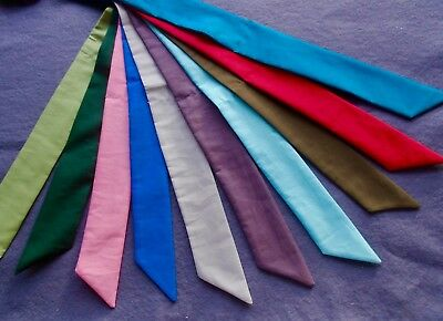 Cooling Scarves  In A Choice Of 10 Plain Shades Handmade In Pure Cotton