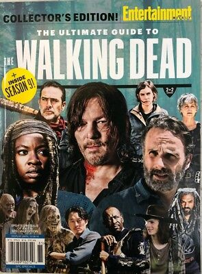 2018 Entertainment Weekly COLLECTOR'S EDITION Ultimate Guide The Walking Dead