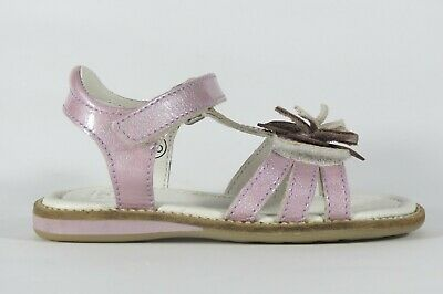 NOEL Sally lilac patent leather little girl's sandal with adjustable toe strap
