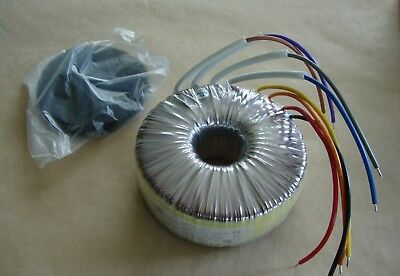 250VA Toroidal Transformer 2 x 25V Secondary,  mains 230V or 115V Thermal Fuse