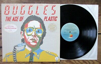 BUGGLES - The Age Of Plastic (1980) Vinyl, LP Island ILPS 9585 Hype & Promo