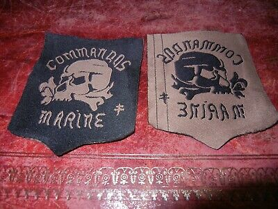 COS       COMMANDOS    MARINE      HUBERT        PROTOTYPE       patch   (  1  )