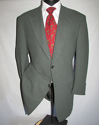 Canali Proposta 2 Button Closure Silk and Wool Suit/Sports Jacket Size 42L