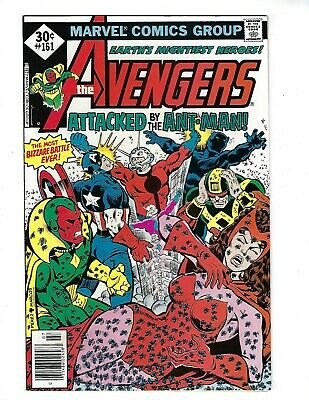 AVENGERS # 161 (ANT-MAN & ULTRON apps. CENTS, July 1977), FN+