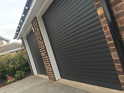 Roller Garage Door in Anthracite with Free colour match guides & box