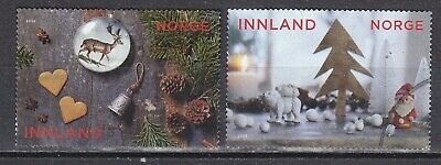 NORWAY 2018 used SC#  Christmas stamps