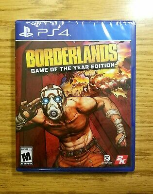 Borderlands: Game of the Year Edition GOTY (PlayStation 4) *FACTORY SEALED* PS4