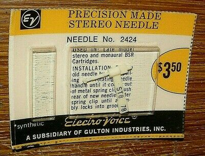 367-DS73 STEREO PHONOGRAPH RECORD NEEDLE for ELECTRO-VOICE EV 194  EV 2623DS