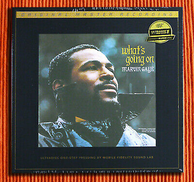 MARVIN GAYE – WHAT'S GOING ON   One Step Master MFSL 45RPM  2LP Box Set  SEALED