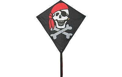 AQUILONE ready to fly EDDY JOLLY ROGER single line kites INVENTO HQ diamond PIRA