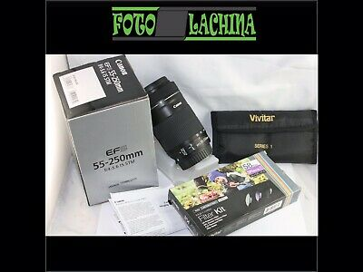 Canon EFS 55-250 f 4-5,6 IS STM+ filtri