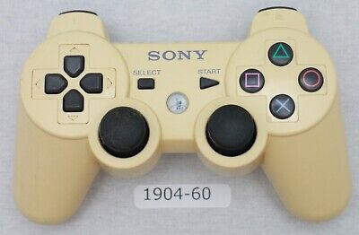 [Free ship] SONY PS3 Official Controller White Wireless CECHZC2J Working 2