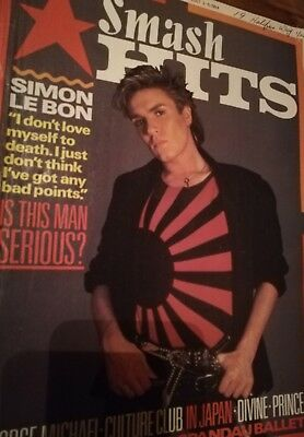 Smash hits magazine