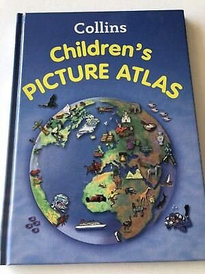 Collins Children's Picture Atlas by Collins Maps (Hardback, 2012)