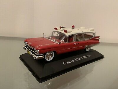 Cadillac Miller - Meteor 1:43 Station Wagon Ambulance Collection