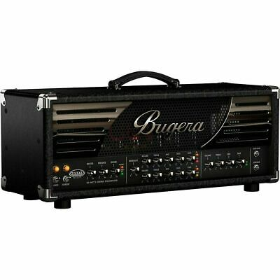 Bugera 333XL Infinium 120 Watt 3-channel Tube Head Amplifier NEW with Footswitch