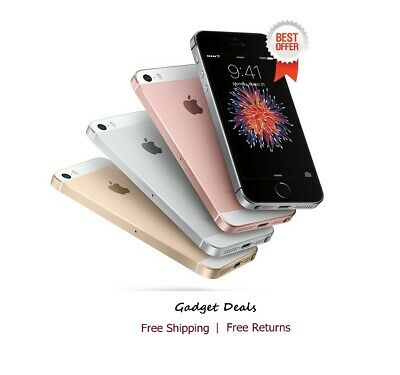 Apple iPhone SE Gray/Gold/Rose/Silver 4G LTE GSM Unlocked Smartphone New iOS 13