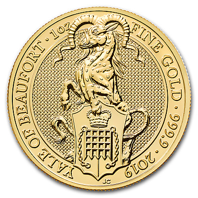 2019 Great Britain 1 oz Gold Queen's Beasts The Yale - SKU #190605